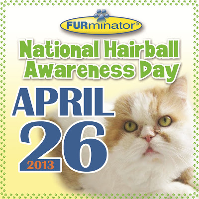 National Hairball Awareness Day