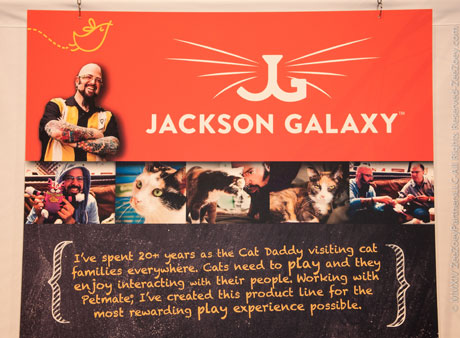 Global pet expo 2014 happy endings and new beginnings for Petmate jackson galaxy